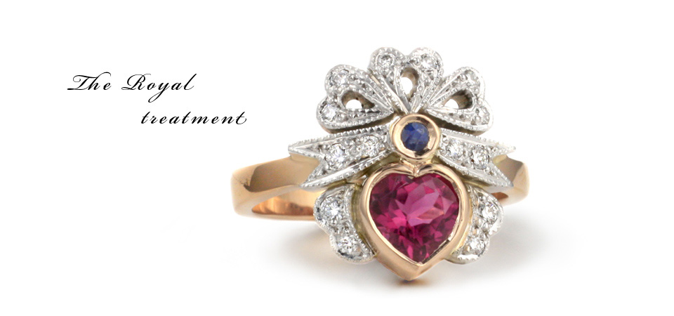 pink-heart-diamond-ring-antique-1