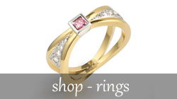 Adorn Jewels Adelaide Jeweller online designer sterling silver unique unusal dress ring enagement wedding rings pink diamonds