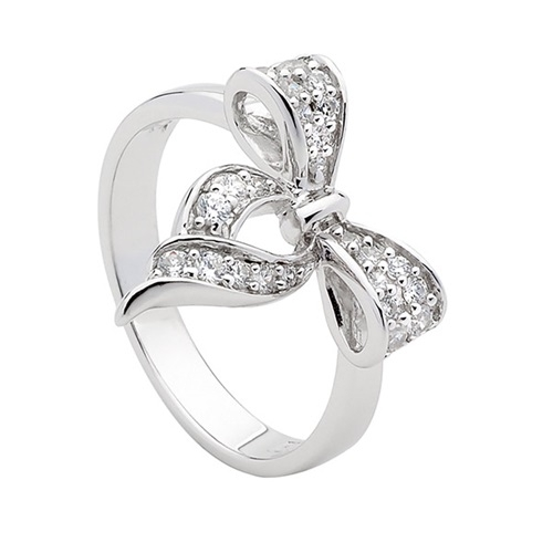 Ellani Collection Sterling Silver Ring R294W