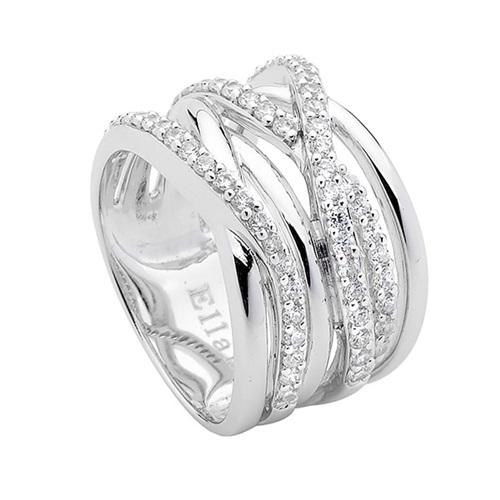 Ellani Collection Sterling Silver Ring R323