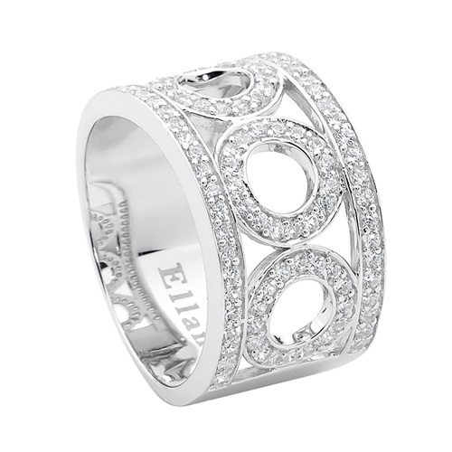 Ellani Collection Sterling Silver Ring R413
