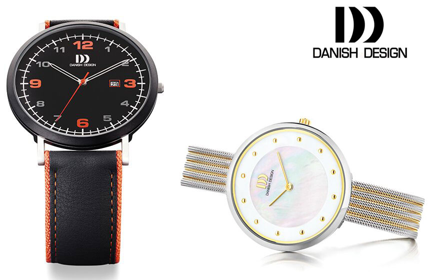 Danish-Design-Watches-Mesh-style-leather-strap-adorn-Jewels-online-jewellery-jewels-orange-and-mesh-watch