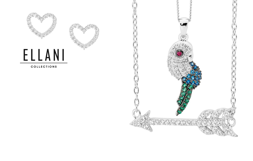 Ellani-Collection-silver-jewellery-parrot-arrow-heart-online-jewellery-australia-adelaide-Adorn-Jewels