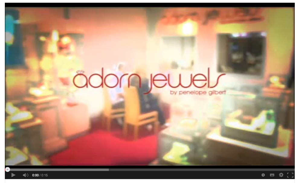 Adorn Jewels by Penny Gilbert Adelaide Jewellery TV Ad