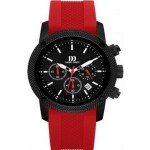 Danish Design Watch Model IQ24Q1020 red adorn Jewels Adelaide Jeweller chronograph