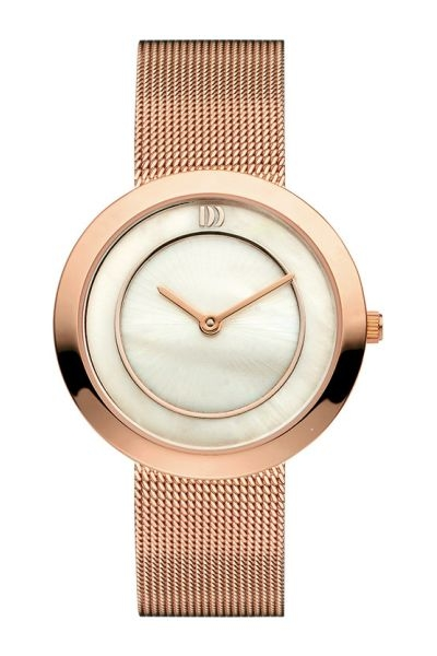 Rose gold watch mesh strap, Danish Design Watch Model IV67Q1033 Adorn Jewels Adelaide Jewellery Jeweller