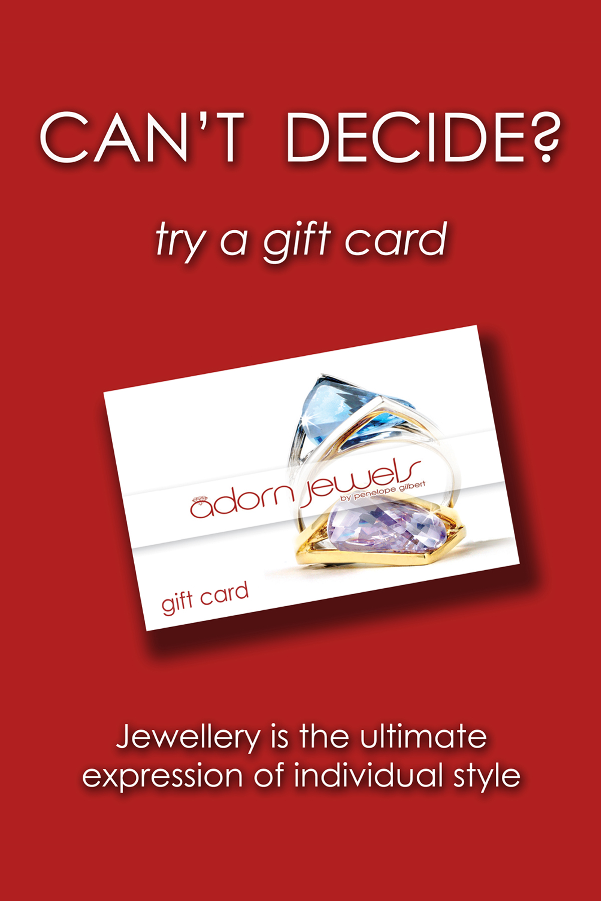 Adorn Jewels Gift Card, Remodelling Gift ideas, Adorn Jewels, Adelaide Jewellery , Adelaide Jewellery, Custome manufacture Jewellery