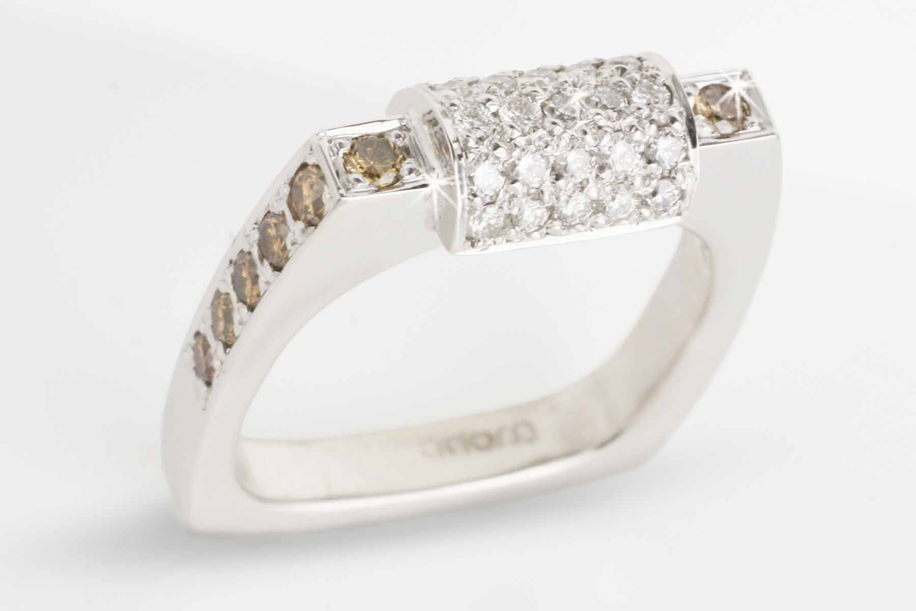 Adorn Jewels Adelaide Jewellery Champagne diamond ring