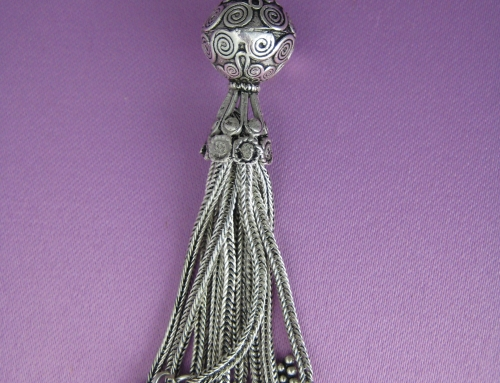 Adorn Jewels by Penelope Gilbert Adopts Designer Tassel and Fringe Jewellery Trends from Fashion Week 2014  – So 1920's!