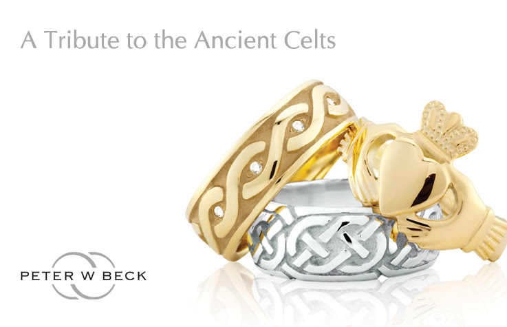 PWBeck celtic wedding rings Adorn Jewels Adelaide Jewellery South Australia supplier