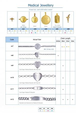 medical alert jewellery, adorn jewels, South Australia jeweller