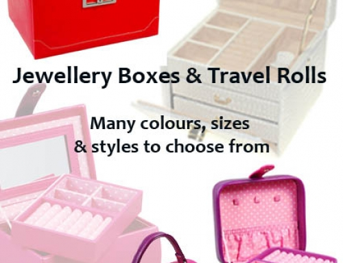 Jewellery Boxes Cases and Rolls