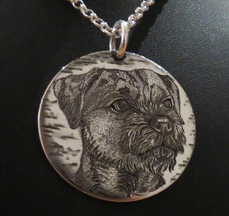 pet portrait, pet jewellery, dog, cat, engrave