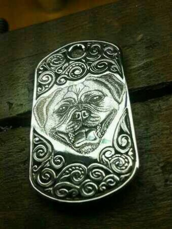 pet portraits, pet jewellery, hand engraved,