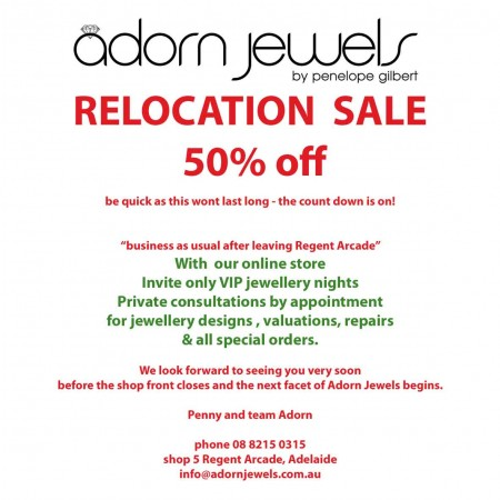 Relocation Sale 50% off,  we are leaving the arcade