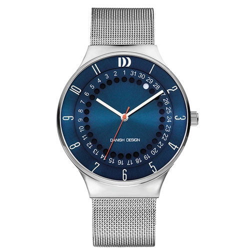 Danish-design-watch-IQ68Q1050-blue-face-mesh-strap