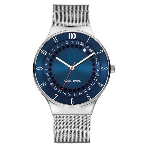 Danish-design-watch-IQ68Q1050-blue-face-mesh-strap