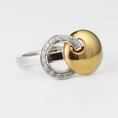triangle shape set ring adorn jewels wedding
