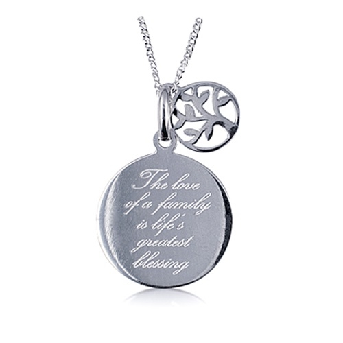 family blessing pendant tree of life