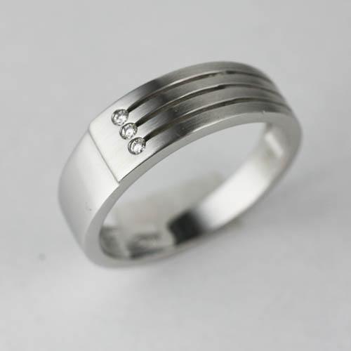 Polish and Matt Finished Ring Adorn Jewels Wedding Engagement