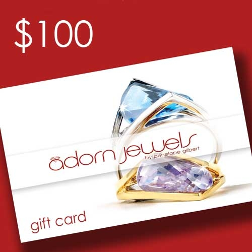 adorn jewels Gift Card voucher $50 online jewellery jewellery silver gold enagement ring desinger jewels