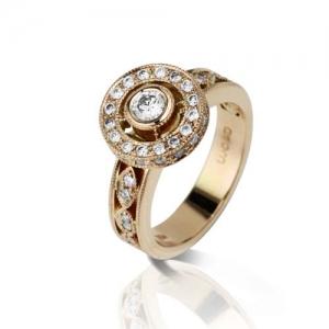 rose gold, jewellery designer Penelope Penny Gilbert, Adelaide Jewellery, Online designer Australia Jewelry Diamonds engagement ring, remodel jeweller